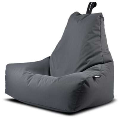 outdoor mighty grey bean bag by Extreme Lounging
