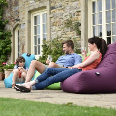 outdoor mighty lime bean bag by Extreme Lounging