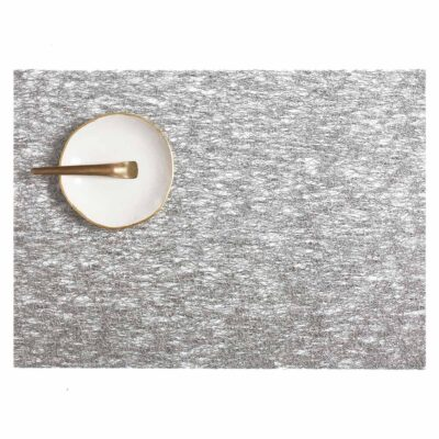 rectangle silver metallic Lace placemat by Chilewich