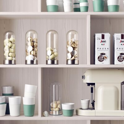 Coffee capsule dispenser by Eva Solo