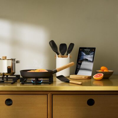 Nordic kitchen spatula black by Eva Solo