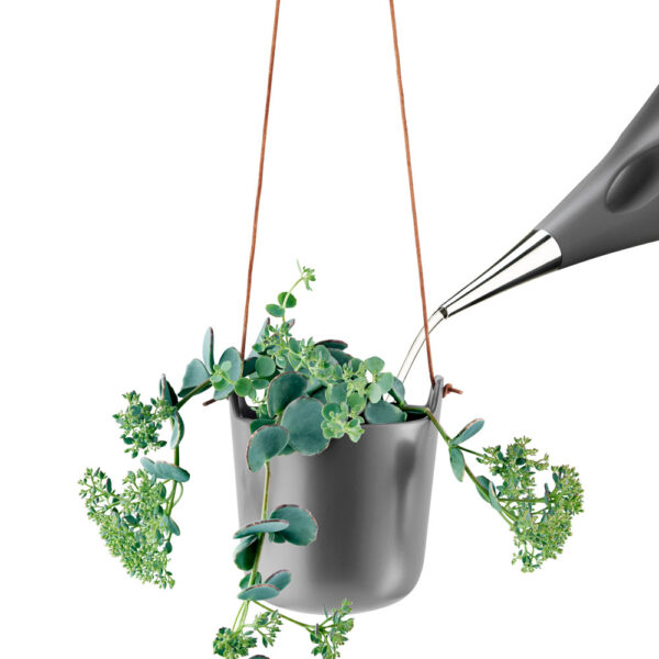 Selfwatering Nordic grey Hanging Pot by Eva Solo