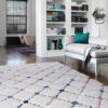 Ariana Criss Cross rug by Asiatic Carpets