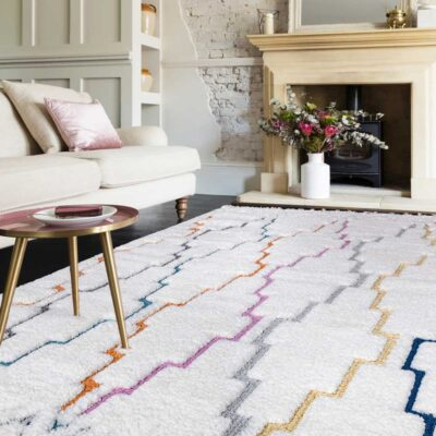 Ariana Trellis rug by Asiatic Carpets