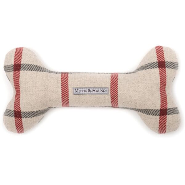 dog Bone Nottingham Check by Mutts & Hounds