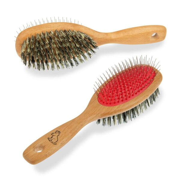 dog Brush Dual Sided by Mutts & Hounds