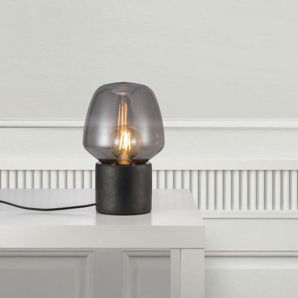 Smoked Black table Lamp by Nordlux