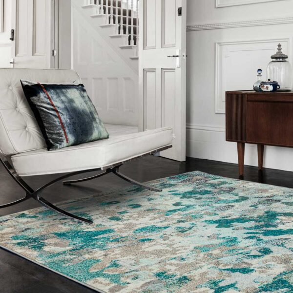 Colores Cloud Etheral rug by asiatic carpets