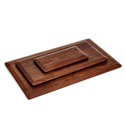 Cutting board Pure wood rectangular designed by Pascale Naessens