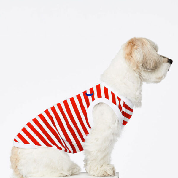 Daniel red striped Dog Body by The Painter's Wife