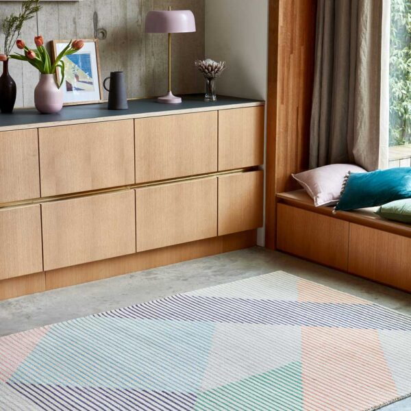 Dash pastel rug by asiatic carpets