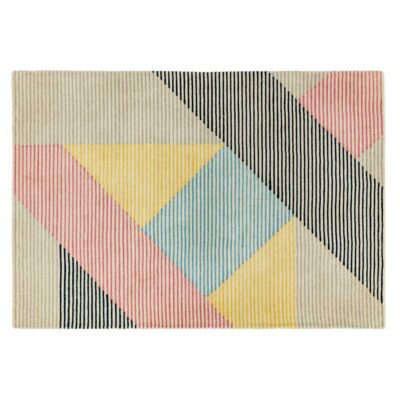Dash bright rug by asiatic carpets