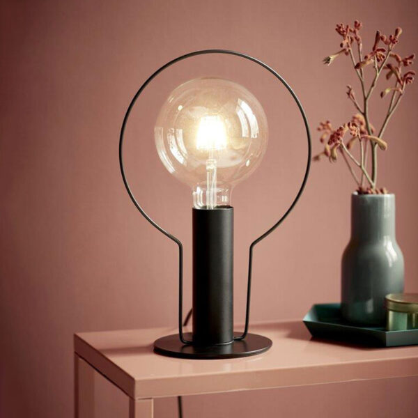 Black Halo Table Lamp by Nordlux