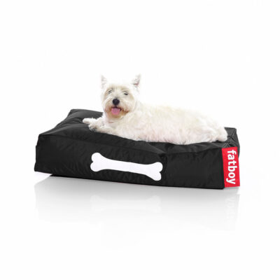 Doggielounge black small dog bed by Fatboy