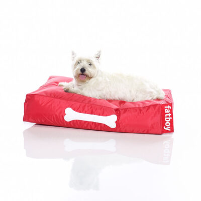 Doggielounge red small dog bed by Fatboy