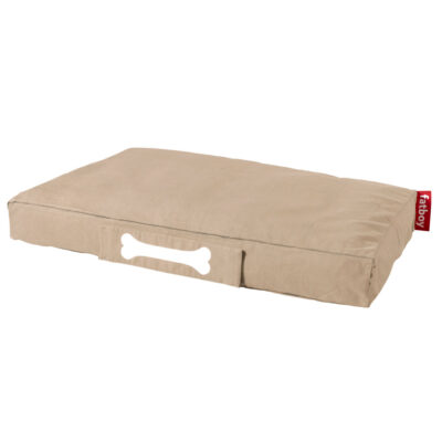 Doggielounge Stonewashed sand large dog bed by Fatboy