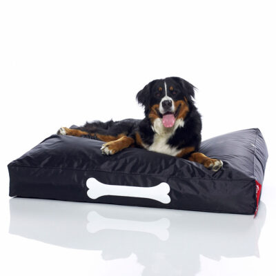 Doggielounge large black dog bed by Fatboy