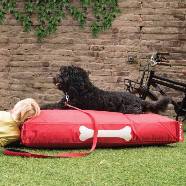 Doggielounge large red dog bed by Fatboy