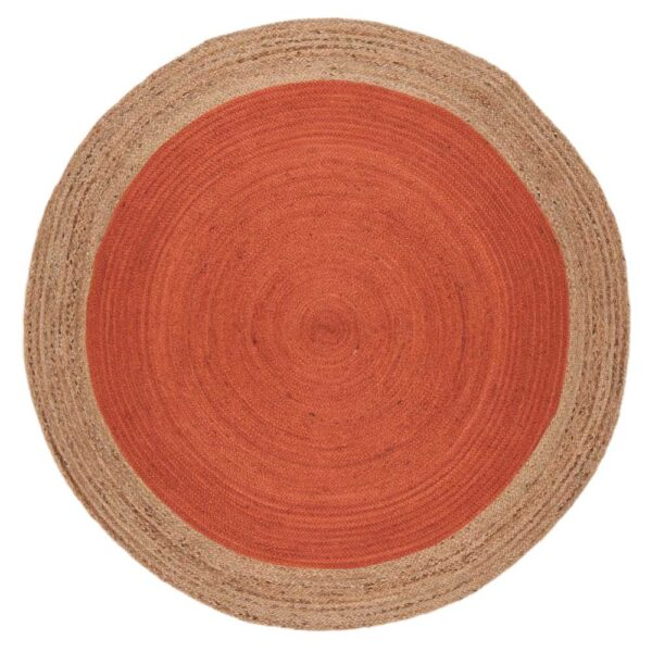 FARO rust rug by asiatic carpets