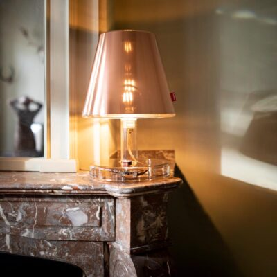 metallicap copper table lamp by Fatboy