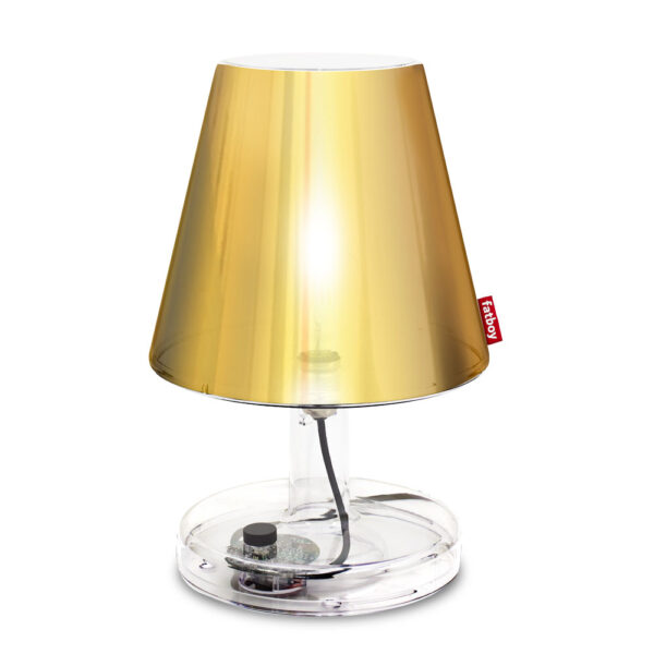 metallicap gold table lamp by Fatboy