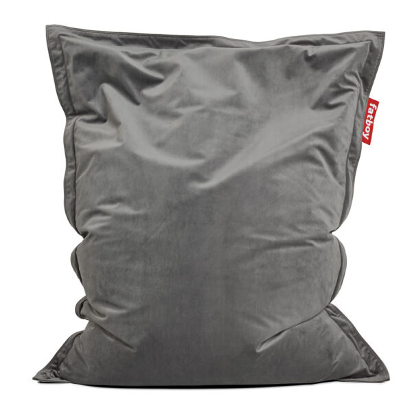 Original Slim velvet taupe Fatboy bean bag