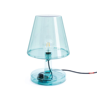 Fatboy Trans-Parents blue table lamp