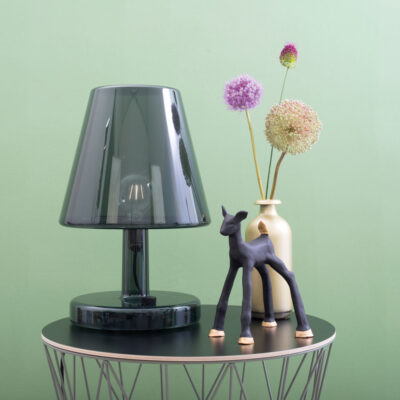 Fatboy Trans-Parents Darkgrey table lamp