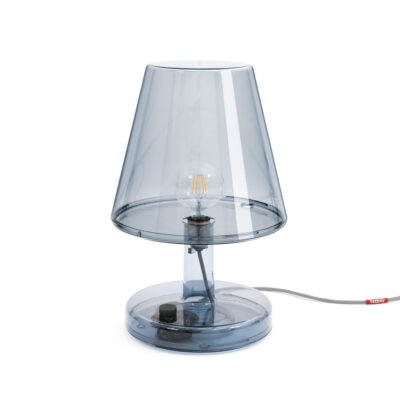 Fatboy Trans-Parents grey table lamp