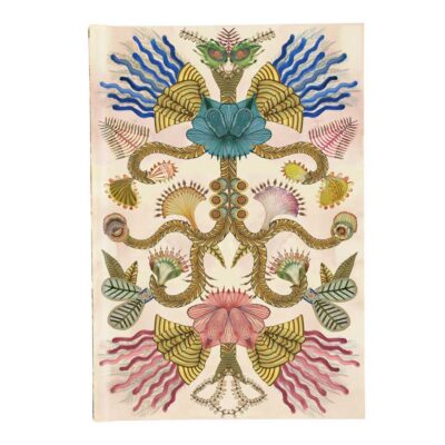 Fleurs Cannibals A5 Harbound Notbeook by Christian Lacroix