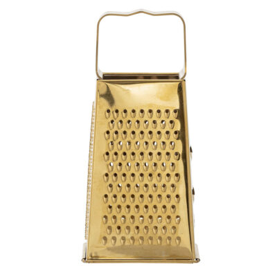 Gold Stainless Steel Grater by Bloomingville
