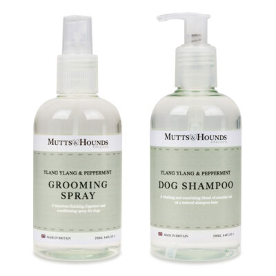 Dogs Grooming Spray & Shampoo Ylang Ylang by Mutts & Hounds