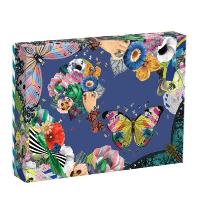 Set of 2 shaped puzzle by Christian Lacroix