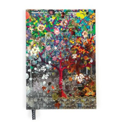 Heritage collection les 4 saisons A5 Notebook by Christian Lacroix