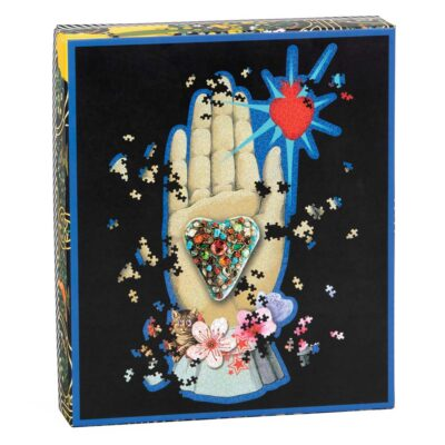 750pc shaped puzzle by Christian Lacroix