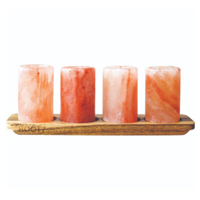 Himalayan Salt 4 Pack and Serving Board by Eva Solo