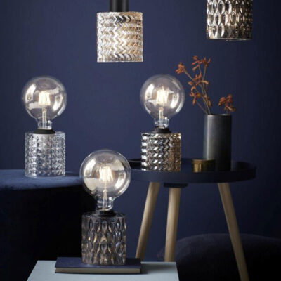 Smoked Table Lamp by Nordlux