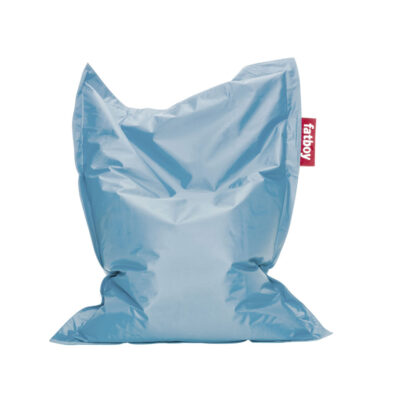 Junior ice blue beanbag by fatboy