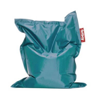 Junior turquoise beanbag by fatboy
