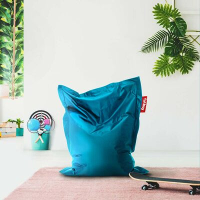 Junior petrol beanbag by Fatboy