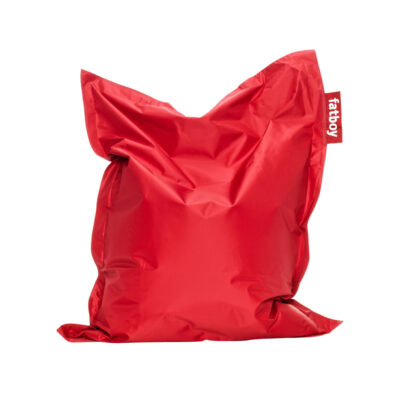Junior red beanbag by Fatboy