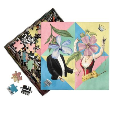 double sided 250 piece puzzle by Christian Lacroix