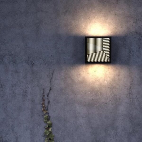 Black Wall Light by Nordlux