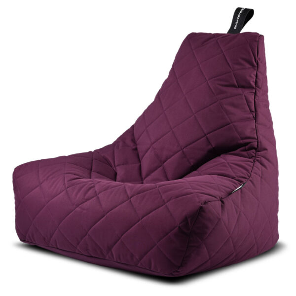 Mighty B BAG quilted berry by Extreme Lounging
