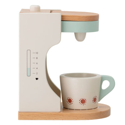 Mini Play Coffee maker Set in wood