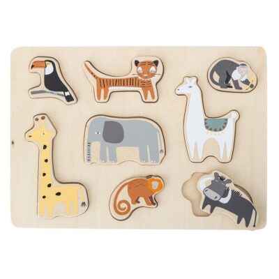 Mini Plywood Animal Puzzle