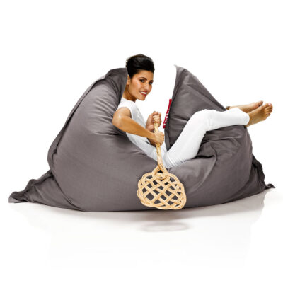 Original Stonewashed grey Fatboy bean bag