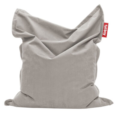 Original Stonewashed silver grey Fatboy bean bag