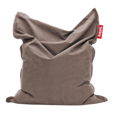 Original Stonewashed taupe Fatboy bean bag
