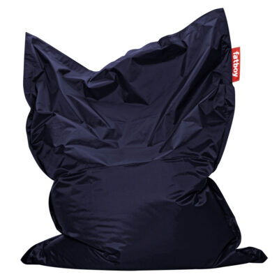 The Original blue Fatboy bean bag